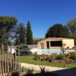 Soleil, piscine, terrasse, le printemps est là !
