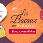 Menu, Les Bocaux du Rabelais, Restaurant-Drive